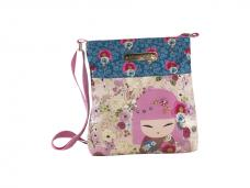 Чанта за рамо Kimmidoll Denim Blue 23x25,5x5,5