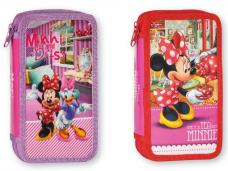 Несесер 2 ципа зареден Disney Minnie, 21х12х4.5